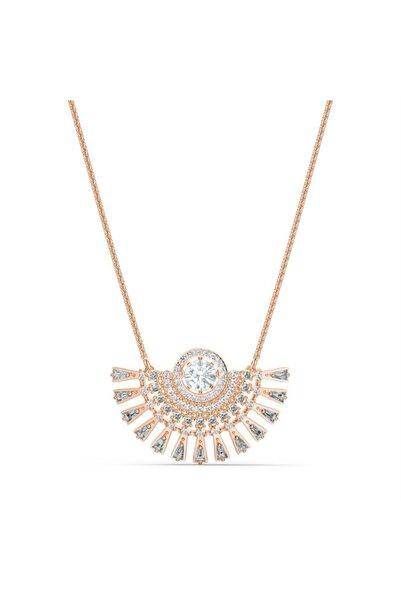Swarovski 5578116 Kolye Sparklıng Dc-necklace Med Du Dmul-ros