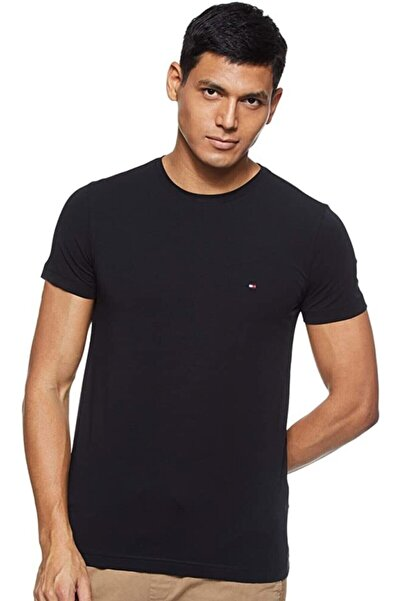 Tommy Hilfiger Erkek T-shirt - Siyah