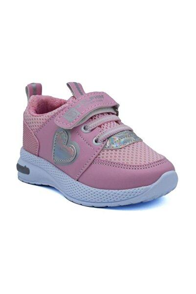Dolphin Kız Çocuk Pembe Işıklı Spor Ayakkabı