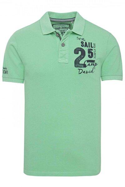 Camp David Erkek Yeşil Polo T-shirt