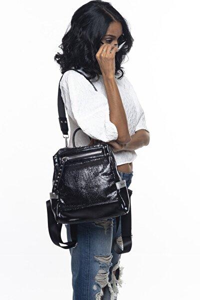 Matthew Cox Siyah Kadın Sırt Çantası Byn814