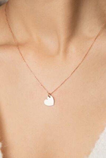 Kadın Kalp Model 925 Ayar Gümüş Kolye