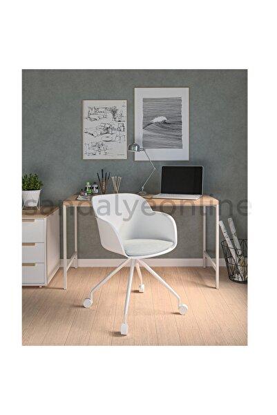 Sandalye Online Shell Ofis Sandalyesi Beyaz