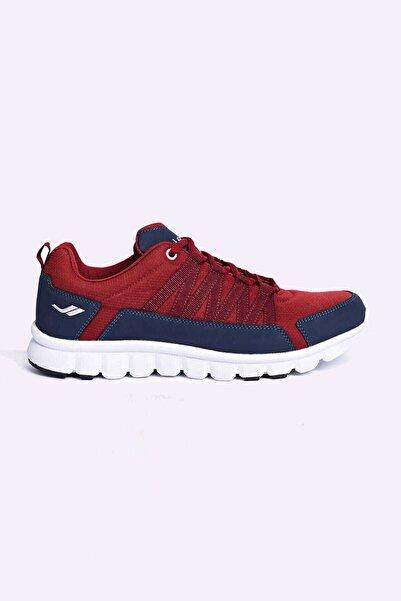 Lescon Erkek Bordo Sneaker - L-4539 Helium - 17bae004539m-008