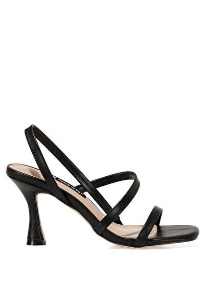 Nine West MOONA 1FX Siyah Kadın Sandalet 101008492