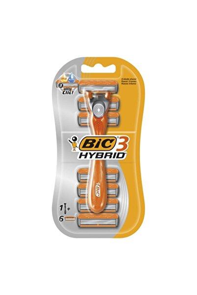 Bic Hybrid Tıraş Makinesi 1+ 6 Yedek Bıçağı