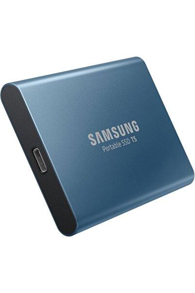 """Universal Samsung 500gb Ssd 2,5"""" T5 Mu-pa500b/ww 540mb/s Usb 3.0 Harici Harddisk Mavi"""