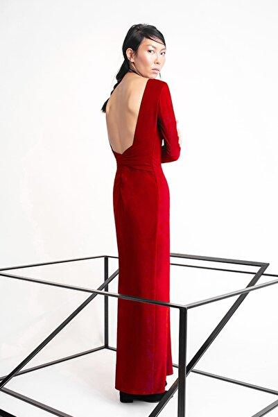 RİVUS Kadın Kırmızı Elbise 1478