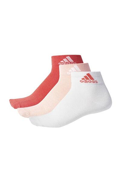 adidas Unisex Antrenman Çorap - Per Ankle T 3Pp - S99887