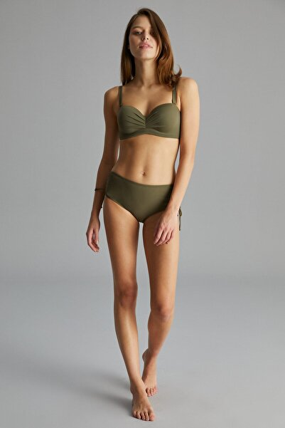 Penti Haki Basic Lotus Bikini Üstü