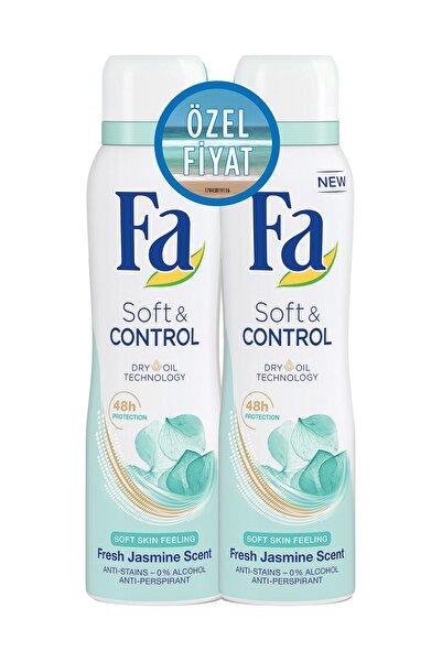 Fa Deodorant Sprey 2'Li Soft & Control 150 ml + 150 ml 8690572783283