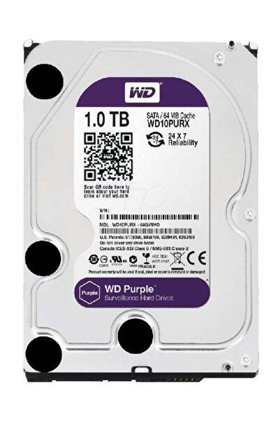 WD PURPLE 1TB 64MB SATA3  7/24 (WD10PURX)
