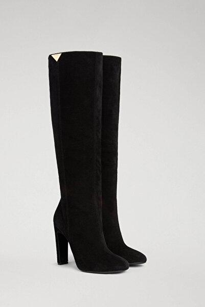 Emporio Armani Kadın Siyah Çizme 343796