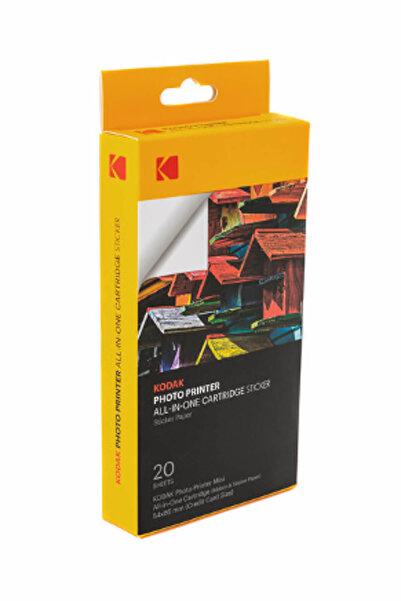 Kodak MSS-20 / Mini2+MiniShot Fotoğraf Kağıdı & Ribon Set