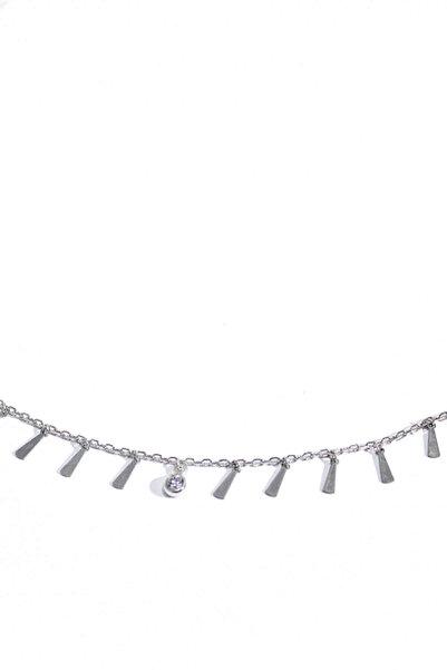 BENDİS Kadın Gümüş Damlacık Çubuk Kolye C507
