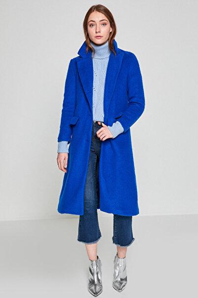Koton Kadın Mavi Kaban 8KAF00042GK