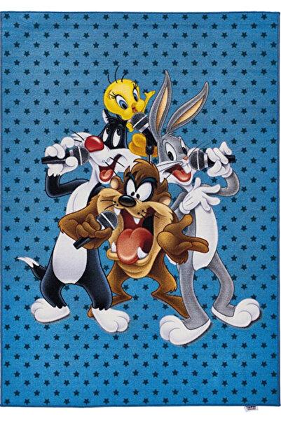 Dolce Vita Halı Nino 210 Looney Tunes Çocuk Halısı - Antialerjik - Kaymaz Taban, 133x190