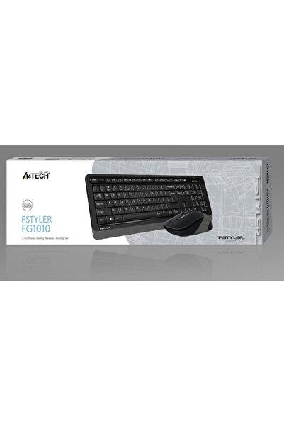 A4 Tech Fg1010 2.4g Gri Q Fn-mm Klv+optik Mouse Set