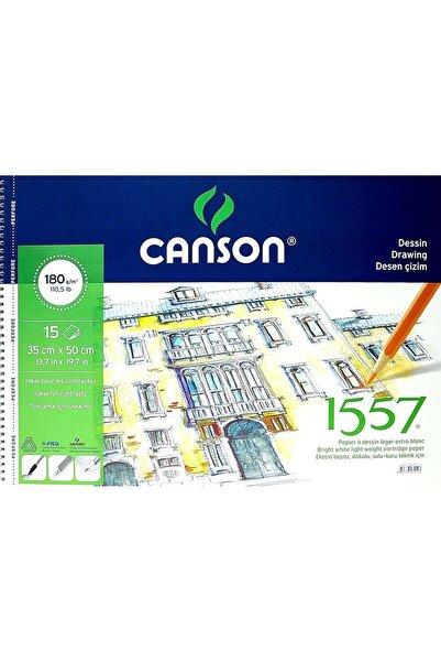 Canson 1557 Desen Çizim Blok 35x50cm 180gr 15 Yaprak