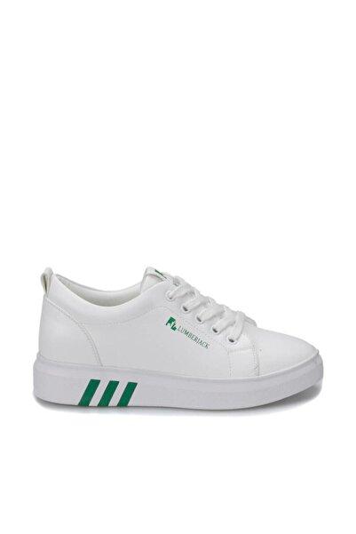 lumberjack Kadın Beyaz Yeşil Tina Sneaker Ayakkabı