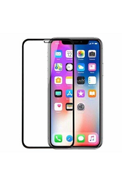 ucuzmi Iphone 11 Tam Kaplayan Ekran Koruyucu - 5d Darbe Emici Temperli Kırılmaz Cam - Siyah
