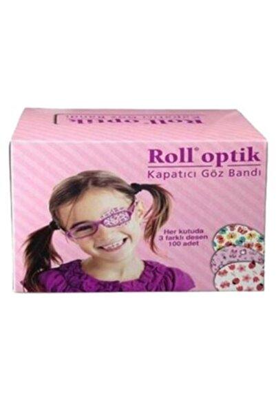 Kurtsan Roll Optik Göz Kapama Bandı Kız 100 Lük Kutu Desenli