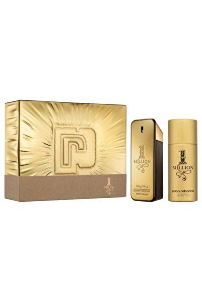 Paco  Rabanne One Million Edt 100 ml Erkek Parfüm + Deodorant 150 ml 3349668582921