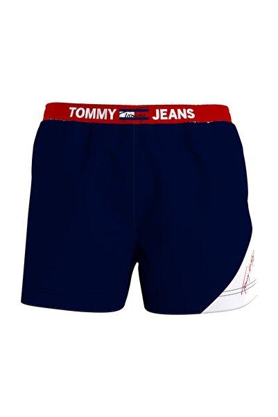 Tommy Hilfiger Erkek Mavi Sf Medium Drawstring Deniz Şortu UM0UM02067