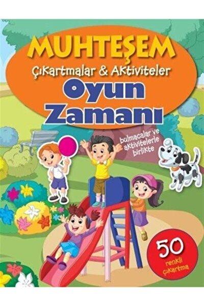 Parıltı Yayınları Muhteşem Çıkartmalar Aktiviteler-oyun Zamanı & Bulmacalar Ve Aktivitelerle Birlikte-50 Renkli Çık...