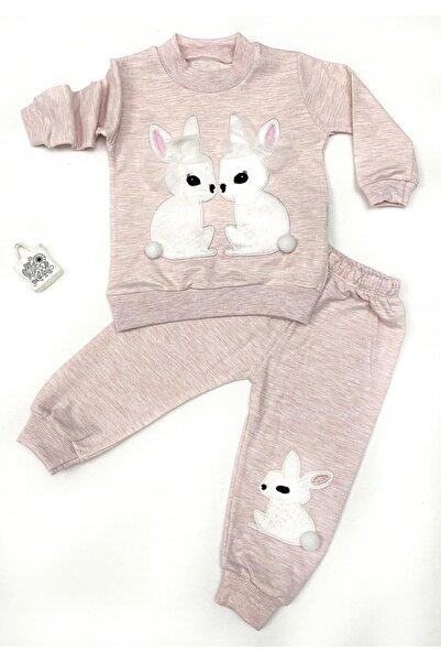 Baby Doss Kız Bebek Pembe Tavşan Arkadaşlar Takım