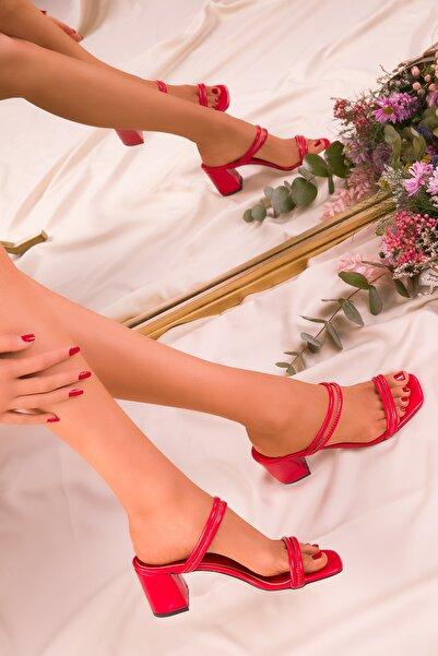 SOHO Kırmızı Kadın Terlik 15942