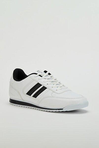 MUGGO Erkek Beyaz Sneaker Ayakkabı Mgpalermo01