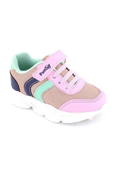 Funny Baby Kız Çocuk Pembe Bantlı Sneaker