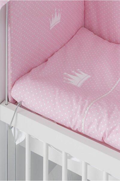Babywhen Kız Pembe 4 Kenar Koruma Uyku Seti 50 X 90