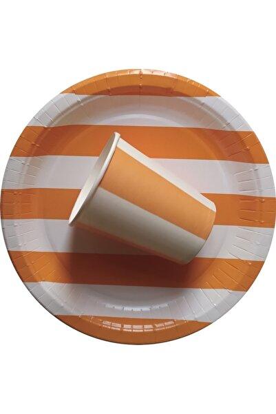 Soobe 24 Lü Karton Bardak Tabak Seti