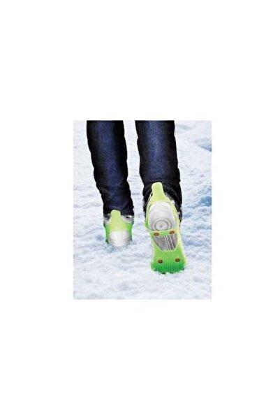 andela Fosforlu Karpatik Kayma Önleyici Ayakkabı Buz Kar Zincir Tabanlı