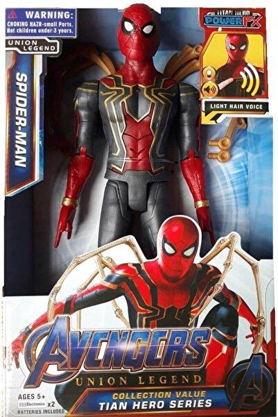 SPIDERMAN Oyuncak Ahtapot Kollu 29cm Örümcek Adam Sesli Işıklı