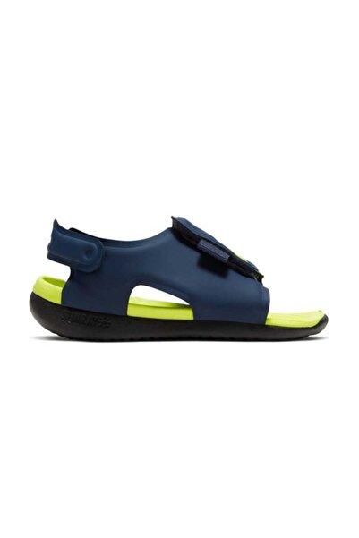 Nike Lacivert Aj9077-401 Sunray Adjust 5 Çocuk Sandalet Aj9077-401