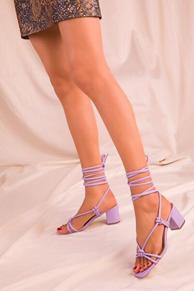 SOHO Lila Kadın Klasik Topuklu Ayakkabı 15940