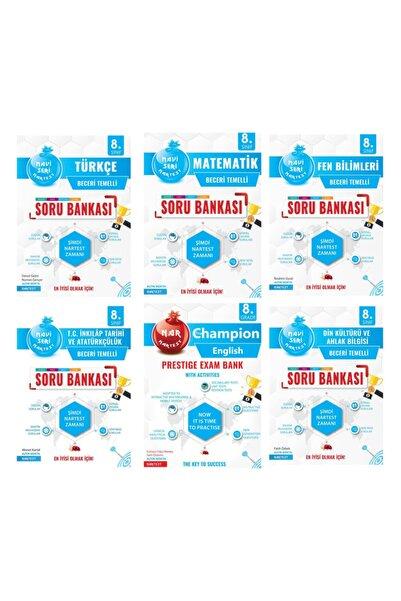 Nartest Yayınları Nar Test Mavi Seri Soru Bankası Set 6 Kitap 8 Sınıf Lgs