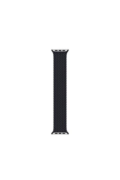 Fibaks Apple Watch Series 3 42mm Uyumlu Kordon Medium Size 147mm Örgü Solo Loop Elastik Kayış Bileklik