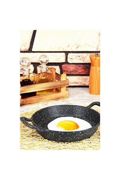 GOLD CHEF 22 Cm Yumurta Sahanı-22 Cm Çapında Granit Döküm Yumurta Pişirme Sahan