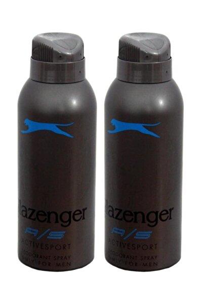 Slazenger Deodorant Active Sport 150ml(Mavi) X 2 Adet
