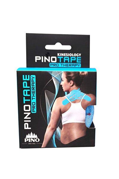 PinoTape Pino Tape Therapy Cotton Kinesiology Ağrı Bandı-yüz Yogası-5cmx5m-mavi