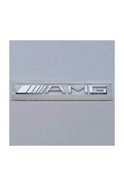MERCEDES Amg Arka Bagaj Yazısı Krom Logo 000przm16808