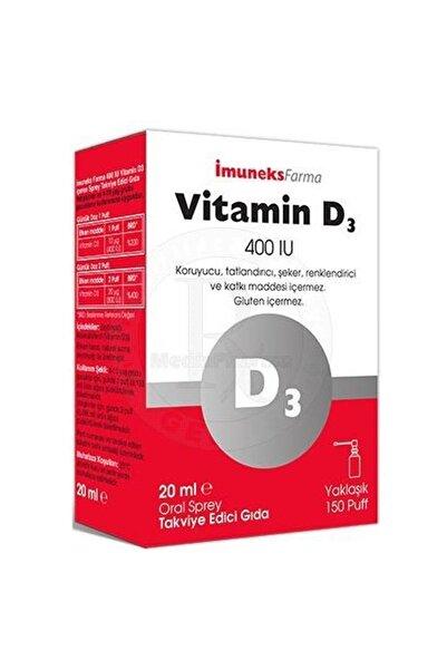 Imuneks Farma Vitamin D3 400 Iu