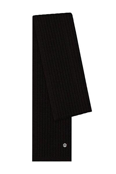 Hemington Erkek Siyah Yün Atkı