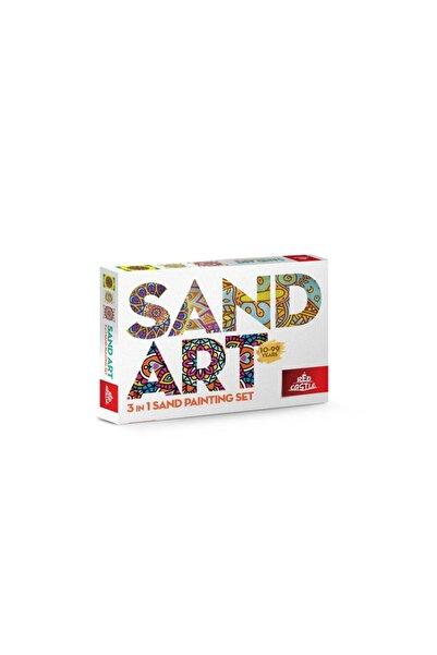 Egem Grup Organizasyon Sand Art Yetişkin Kum Boyama Aktivite Seti (red Castle_yk-02)
