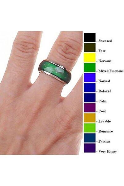 VipBT Ruh Hali Yüzüğü Renk Değiştiren Mod Yüzük Büyük Boy TR32694782383