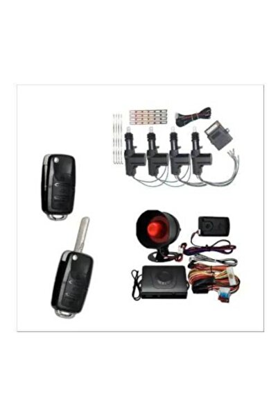 DORCAR Sustalı Model Oto Alarm Seti + Oto Merkezi Kilit Sistemi